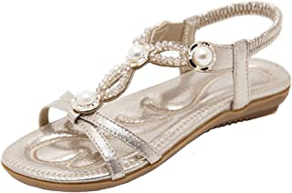 969a7e8043514 Amazon.com: Gold - Flats / Sandals: Clothing, Shoes & Jewelry