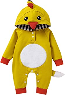 أزياء تنكرية للأطفال الرضع للهالوين عيد الميلاد عيد الشكر كارتون الثعلب الدب تركيا ملابس نوم قطعة واحدة