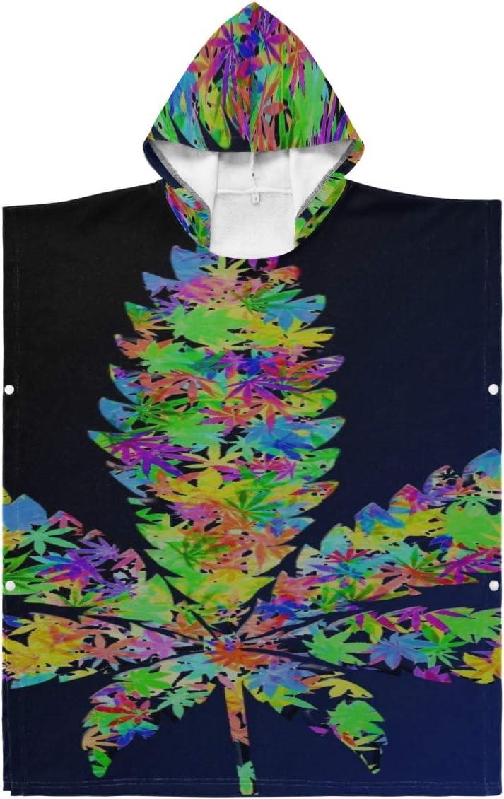 Towel Robe Hood Recommendation Leaf Drugs Leaves Poncho Weeds X Marijuana Hoode favorite