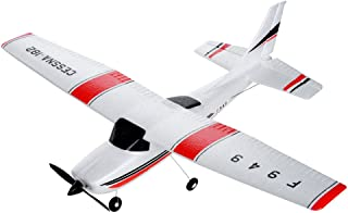 Visdron F949 3 Channel Remote Control Airplane, RTF RC Plane Drone with 2.4GHZ Control Flying Paper Aircraft Toys Indoors & Outdoors Easy to Fly