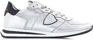 PHILIPPE MODEL Luxury Fashion Womens TZLDM001 Silver Sneakers | Fall Winter 19