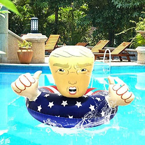 Pangyan990 Sommer Schwimmtrainer Classic Mit Griff Schwimmen Aufblasbarer PVC Sicherheit Für Sommer Spaß Für Pool Party