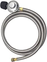 liangzai 6FT Rvs Gevlochten Buis Gas Oven Heater Brazier Open haard Lage Druk Relief Valve Fittings hilariteit