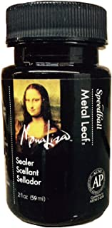 Speedball 10218 Mona Lisa Water-Based Sealer for Metal Leafing Projects – Clear, Fast Drying, Sealant - 2 Ounces
