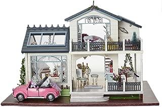CUTEBEE Dollhouse Miniature with Furniture, DIY Wooden Dollhouse Kit Plus Music Movement, 1:24 Scale Creative Room Idea.