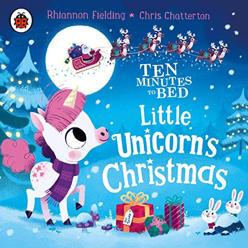 Ten Minutes to Bed: Little Unicorn's Christmas audiobook cover art