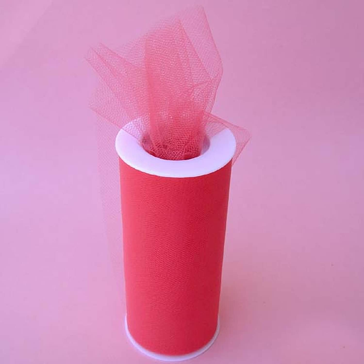 Gifts International Tulle Fabric Spool Roll service X 7 6-Inch yards shop 25