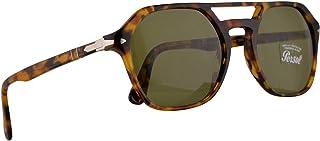 a08fe7e61b Persol PO3206S Sunglasses Madreterra w Green Lens 51mm 10524E PO 3206S PO  3206-S