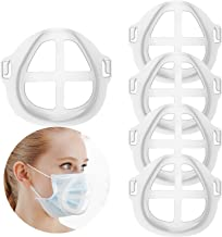 Silicone 3D Mask Bracket, Mask Guard Internal Support Frame Protect Lipstick Lips Protect The Lipstick, Nose Breathing smo...