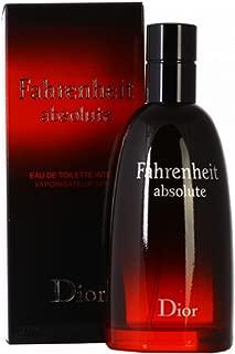 Fahrenheit Absolute by Christian Dior for Men Intense Eau De Toilette Spray, 3.40 Ounce