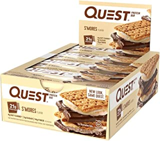 Quest Nutrition Bars S'More Box of 12, 720 g