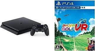 PlayStation 4 ジェット・ブラック 1TB + 【PS4】みんなのGOLF VR(VR専用) セット