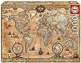 Educa Antique World Map 1000-Piece Puzzle