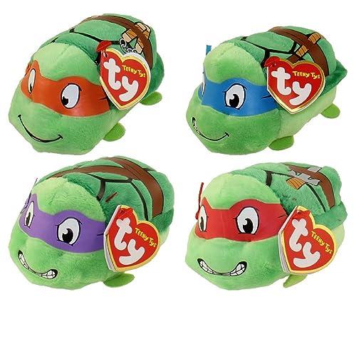 4b9805332f9e8 Set of 4 Ty Teeny Tys Teenage Mutant Ninja Turtles (Leonardo