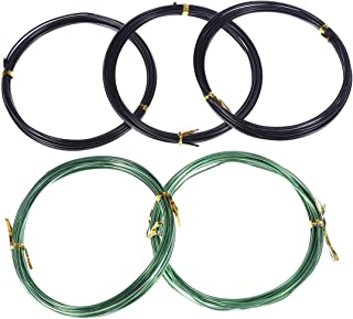 Cabilock 5 Roll Aluminum Craft Wire Flexible Creative Aluminum Wire Jewelry Making Wire Metal Wire for Gardening
