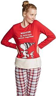 Pijama Snoopy Navideño Mujer Mujer
