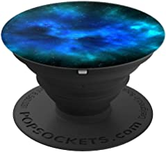 Cool Boys Galaxy Black Blue Nebula Space Stars Designs - PopSockets Grip and Stand for Phones and Tablets