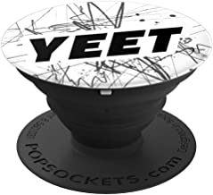 Yeet Meme Black and White Abstract Pattern Boys - PopSockets Grip and Stand for Phones and Tablets