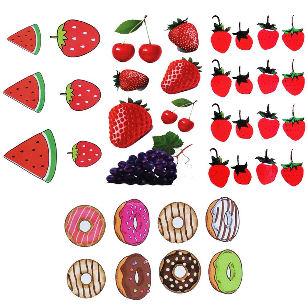 Yesallwas Charlotte Mall cute Fruit Temporary Tattoo for shee Women Kids 8 Body Ranking TOP4
