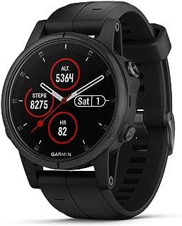 Garmin Fēnix, 5S Plus, sportklocka, Bluetooth, 240 x 240 pixlar, svart