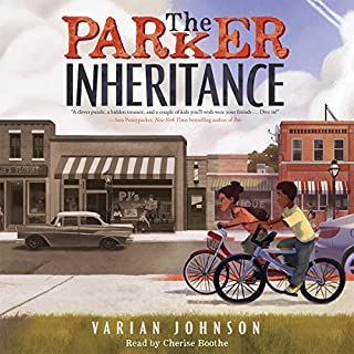 The Parker Inheritance audiobook cover art
