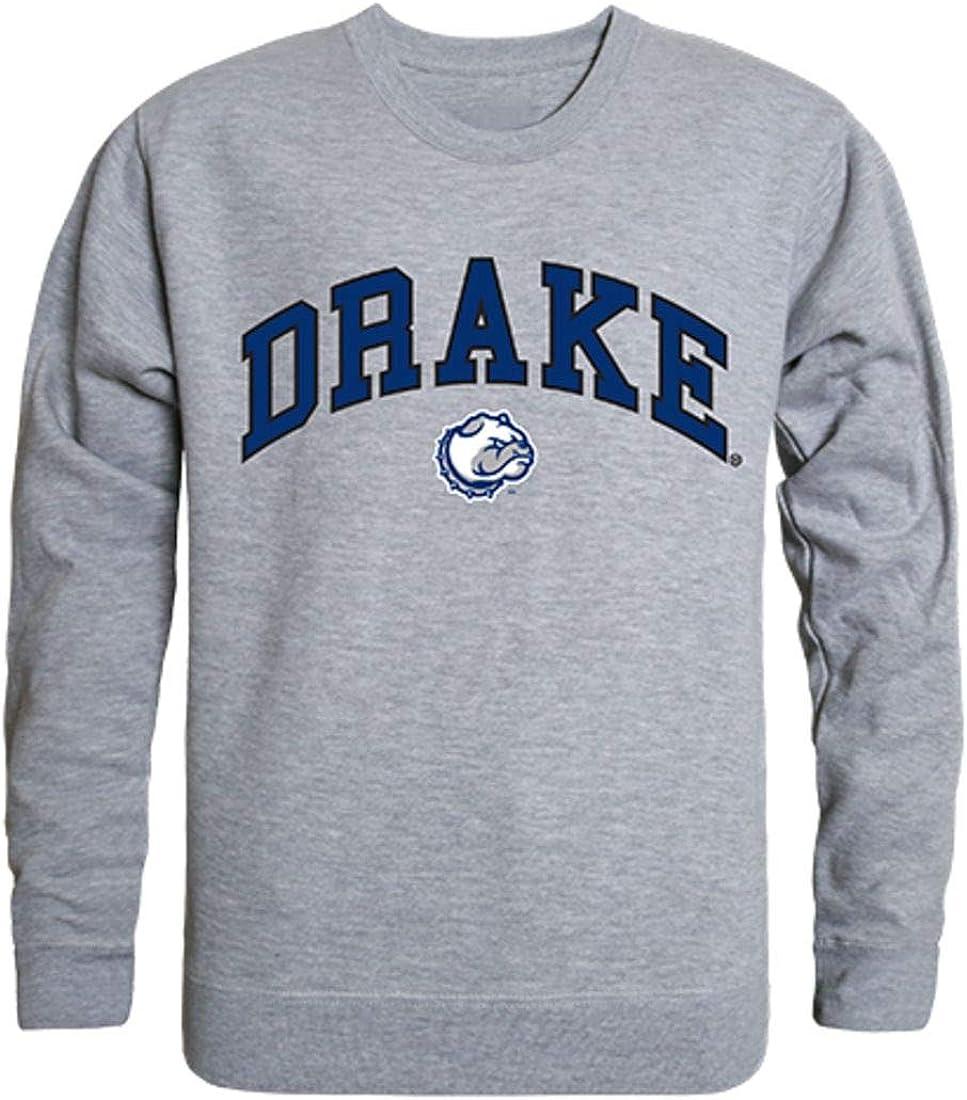 W Republic Drake University Campus Crewneck Max 82% OFF Pullover Elegant Sweatshirt