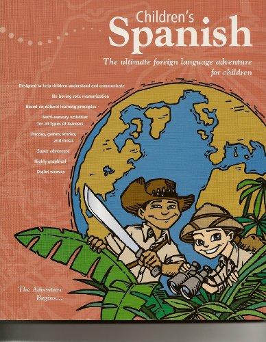 Power-Glide children's Spanish: Activity book