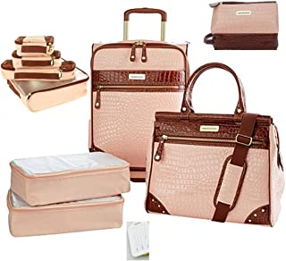 Samantha Brown Ombre Jet Set Travel Luggage Set Plus Extras