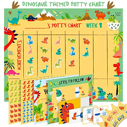 reward chart potty training - 1
