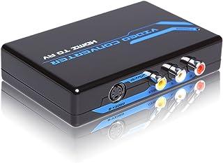 画像安定装置搭載ダウンスキャンコンバーター【HDMIからS-video/コンポジット変換 ~スペシャル機能搭載】日本語取説付き