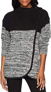 Cathalem Womens Villus Sweatshirt Patchwork Long Sleeve Irregular Pullover Shirts Tunic Tops