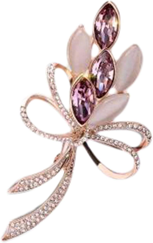 Japan's largest assortment ZHENGFEN San Antonio Mall Rhinestone Orchid Flower Bouquet Brooch Crystal