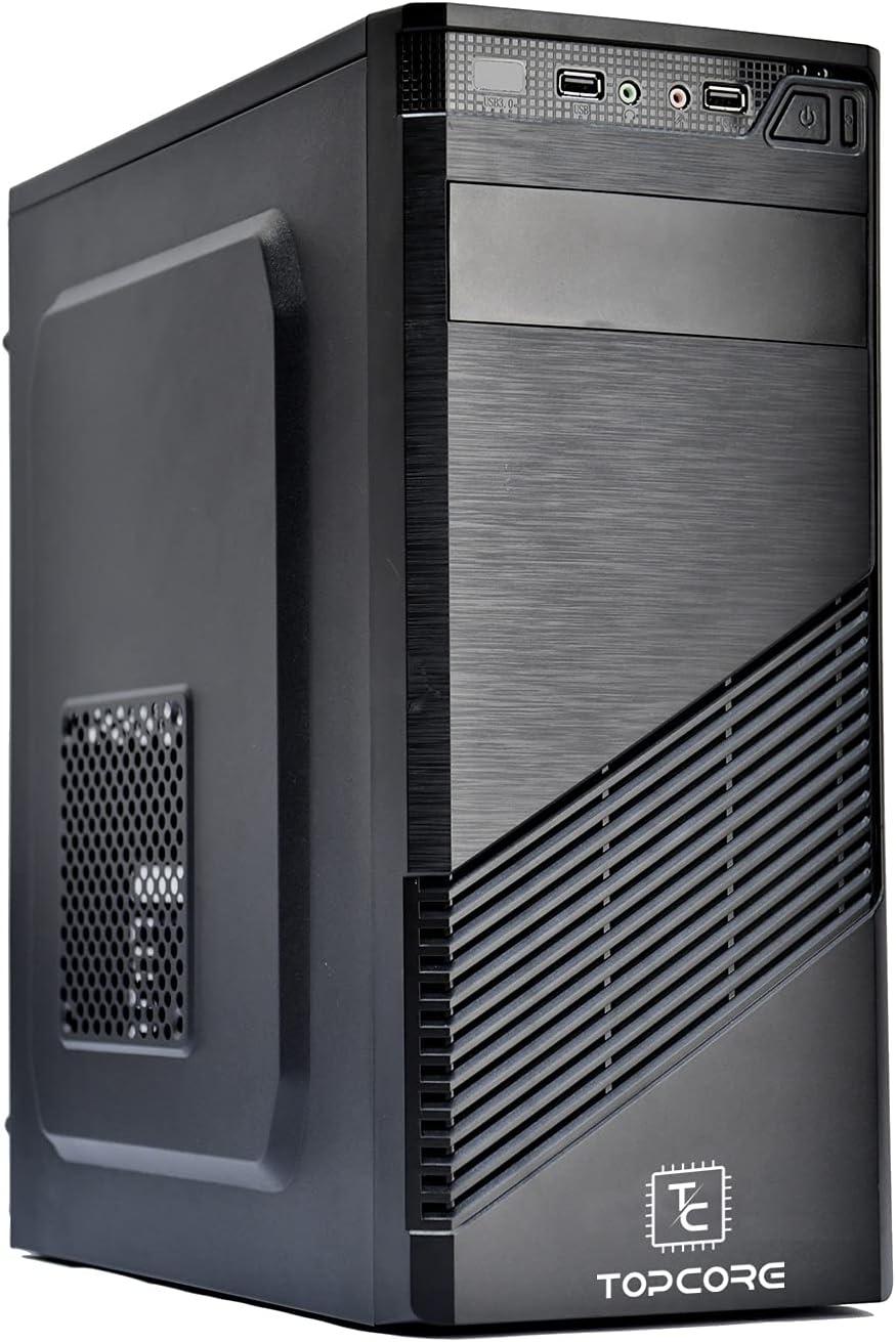 Ordenador Personal De Sombremesa Windows 10 Pro, Intel Core i5-2400, RAM 16 GB DDR3, SSD 240 GB, Disco Duro 1 TB, DVD-RW, HDMI VGA