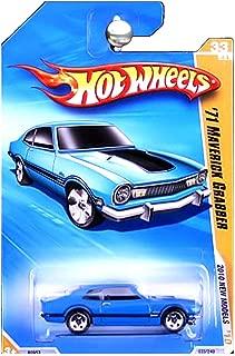 Hot Wheels 2010 New Models 1971 Ford Maverick Grabber Blue