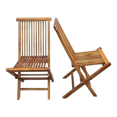 Teak Chairs Amazon Com
