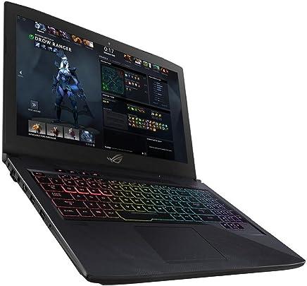 ASUS ROG Strix 15.6-inch Gaming Laptop GL503VM-FY022T - (Black) (Intel i7-7700HQ Nvidia GTX 1060 6GB GDDR5 Graphics, 8GB RAM, 1TB HDD + 128GB SSD, Full RGB Keyboard)