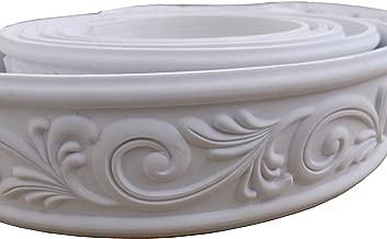 Zhangbl Home Decorate Modelling Crown Mouldings Trim Flexible Molding Ceiling Border Line Interior Decoration Wall Picture Edge Waist Door CasingCorners 2.36