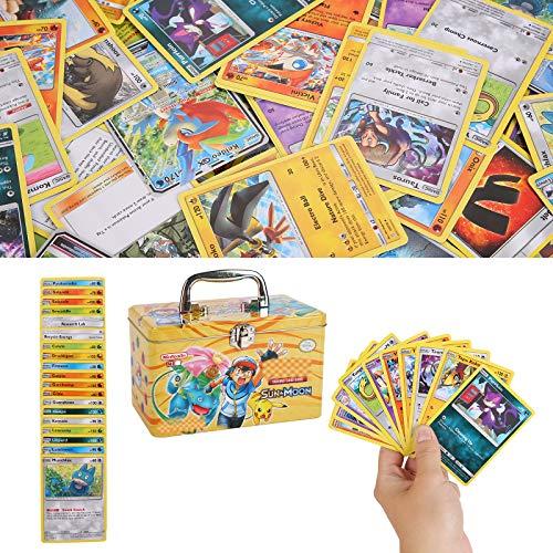Colfeel 150 Stücke Karten, Sack Karten, Sammelkarten, Spielkarte, XY Series Steam Siege