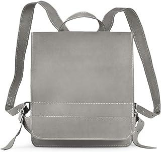 Jahn-Taschen Mittel-Großer Lederrucksack Lehrerrucksack Größe M aus Leder, für Damen und Herren, Jahn-Tasche 668