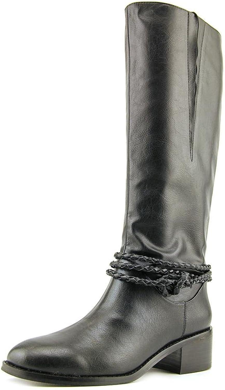 Ann Marino Vane Women US 7.5 Black Knee High Boot