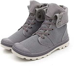 Classic Sneakers for Men の High Top Casual Sneakers Work Outdoor Boots Street-Style Canvas Shoes 2019 SS Fall-Winter