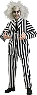 Deluxe Grand Heritage Beetlejuice Costume 80's Movie Adult Size XLarge