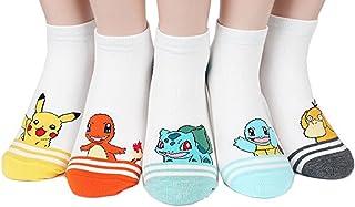 Famous Japanese Animation Print Crew Socks Good Gift Idea Value Packs by JJsocks