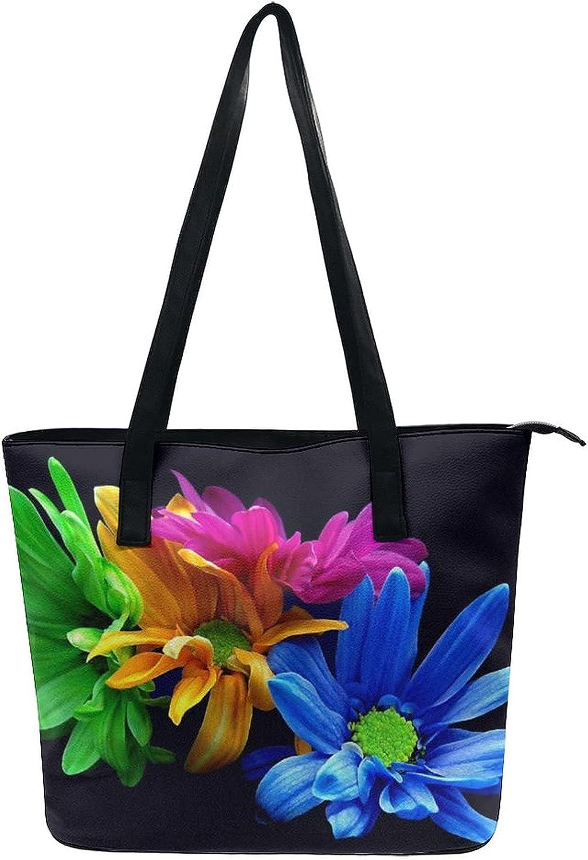 Tote Satchel Bag Shoulder Beach Bags For Women Lady Portable Storage Bucket Bag