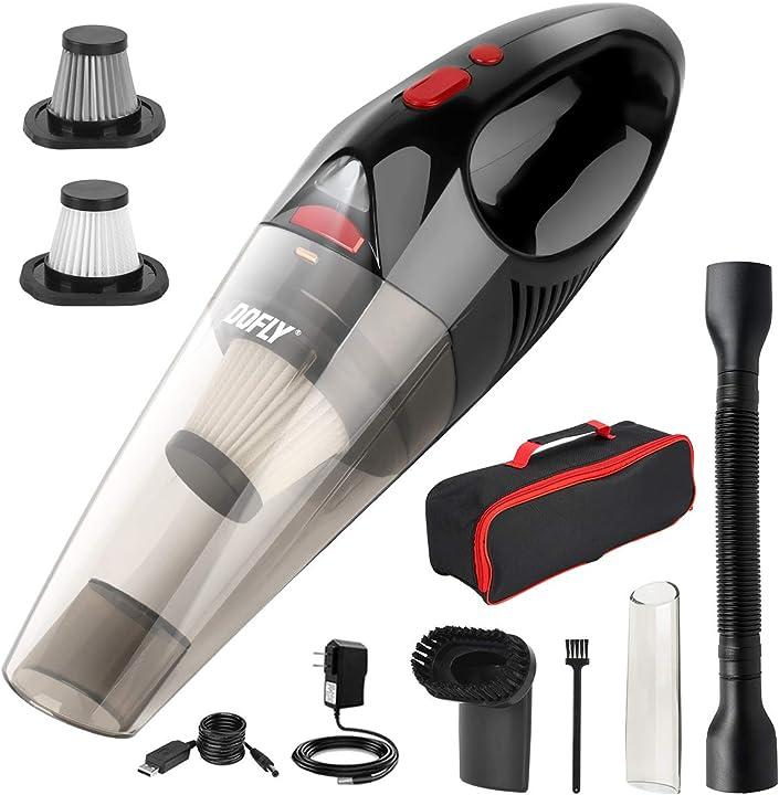 Aspirapolvere portatile senza fili potente 8500pa 120w ultra aspirazione dofly B08RRZGMRS
