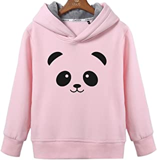 Women's Lovely Cute Panda Face Hoodie with Pockets