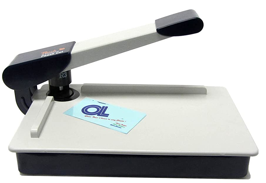 Peach 3mm Radius Round Corner Cutter Rounder Desktop prox 1/8-inch
