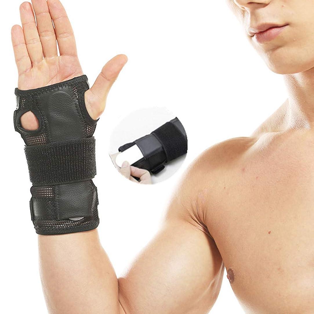 遺伝子伝える経済的ハンドリストバンドリストバンド鉄骨ブレース手首手首サポートスプリント骨折手根管スポーツ捻挫を調整します