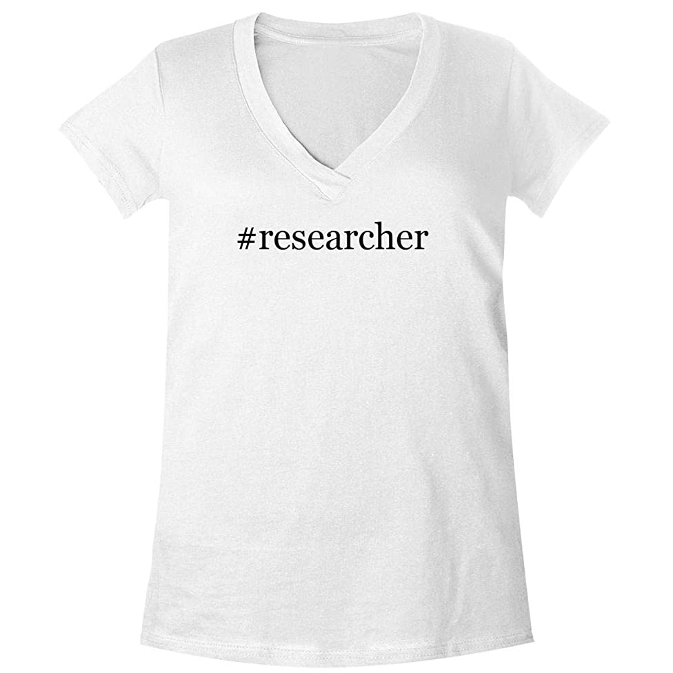 The Town Butler #Researcher - A Soft & Comfortable Women's V-Neck T-Shirt