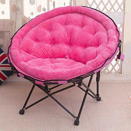 chaise Paresseux canapé Pliante de la Maison Unique Lune Loisirs Bureau Pause déjeuner Sommeil, Taille: 103 * 105 cm (40.5 * 41.3in)